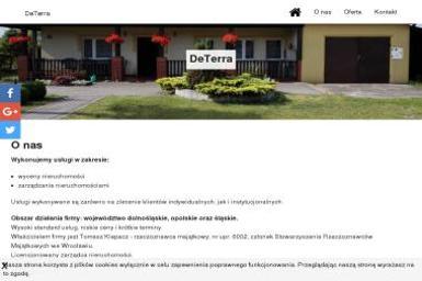 DeTerra - Wycena Nieruchomości - Wycena nieruchomości Wrocław