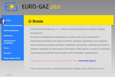 EURO-GAZ plus Sp. z o.o. - Urządzenia, materiały instalacyjne Piotrków Trybunalski
