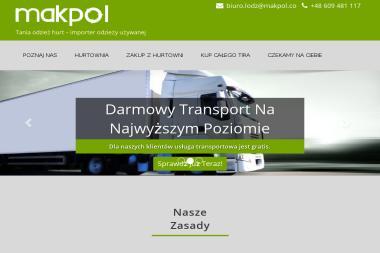 Makpol Polska - Odzież używana Łódź
