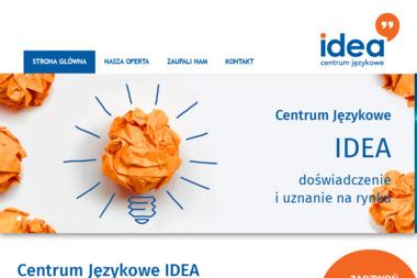 Centrum Językowe Idea Sp. z o.o. - Dotacje unijne Poznań