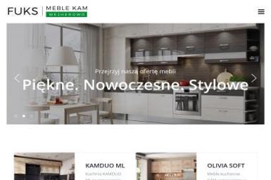 Meble kuchenne Wejherowo - FUKS Partner Handlowy - Meble do łazienki i toalety Reda