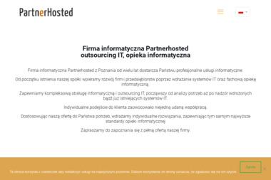 Partnerhosted Sp. z o.o. - Analiza i projektowanie systemów IT Poznań