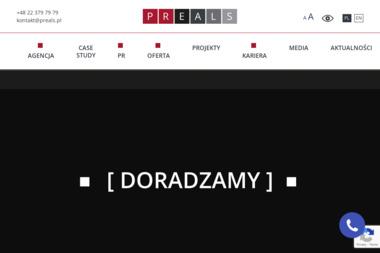 Preals Sp. z o.o. - Agencja PR Warszawa