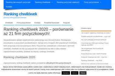 RankingiChwilowek - Usługi Doradcze Gdynia