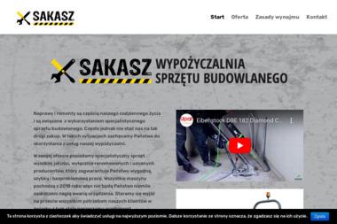 Wypożyczalnia Sprzętu Budowlanego SAKASZ Grzegorz Jaśkowiec - Wypożyczalnia Sprzętu Budowlanego Trzemeśnia