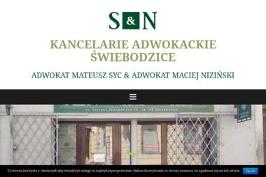 Kancelaria Adwokacka adw. Maciej Niziński - Adwokat Świebodzice