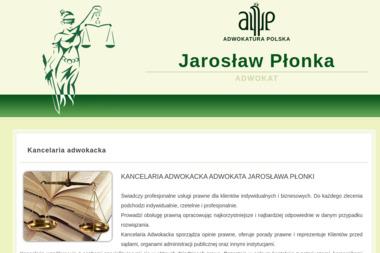 Kancelaria Adwokacka Jarosław Płonka - Radca prawny Żywiec
