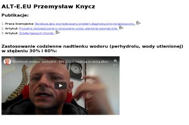 ALT-E.EU Przemysław Knycz - Integracja systemów IT Czechowice-Dziedzice