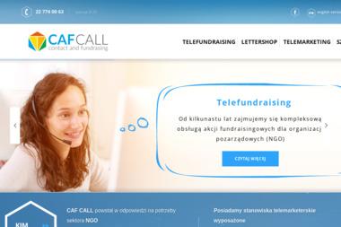 CAF Call Sp. z o.o. - Badanie rynku Legionowo