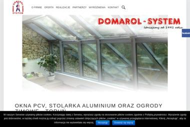 DOMAROL-SYSTEM - Żaluzje, moskitiery Toruń