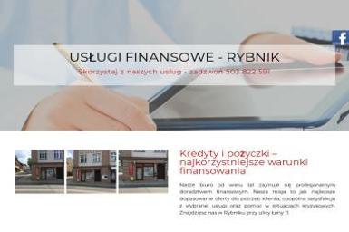 Usługi Finansowe Szolc Martyna - Pożyczka Gotówkowa Rybnik