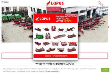 Firma Handlowa LUPUS Sylwester Wilk - Maszyny rolnicze  Ciechanów