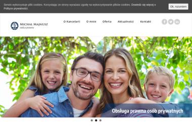 Kancelaria Radcy Prawnego Michał Majnusz - Radca prawny Kędzierzyn-Koźle