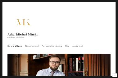 Kancelaria Adwokacka Michał Mirski Adwokat - Adwokat Płock