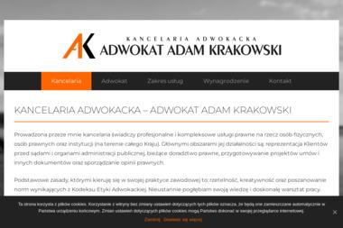 Kancelaria Adwokacka - Adwokat Adam Krakowski - Pisma, wnioski, podania Gdynia