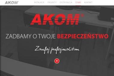 PPHU AKOM Sp. z o.o. - Alarmy Piła