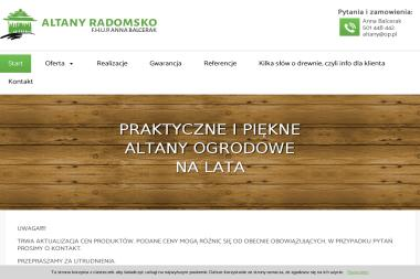 F. H. U. P. Anna Balcerak - Domy Szkieletowe Pod Klucz Radomsko