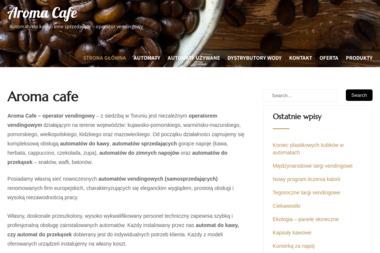 Aroma Cafe - Dostawy wody Toruń