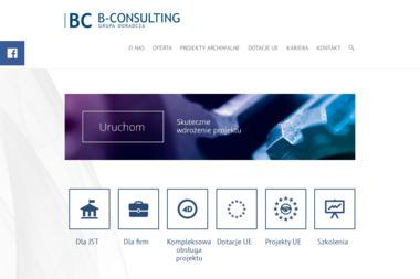 Firma B-Consulting Bartłomiej Gębarowski - Biznes plan Rzeszów
