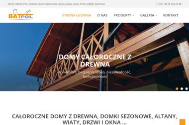 BATPOL Zakład Produkcyjno - Handlowy - Schody drewniane Jazowsko