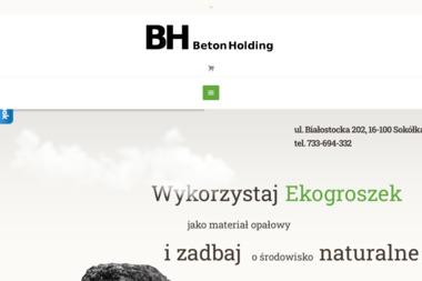 BH BetonHolding - Ekogroszek Sokółka