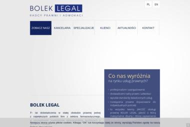 Bolek Legal Kancelaria Radców Prawnych - Radca prawny Rzeszów