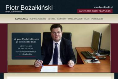 KANCELARIA RADCY PRAWNEGO - Radca prawny Bielsko-Biała