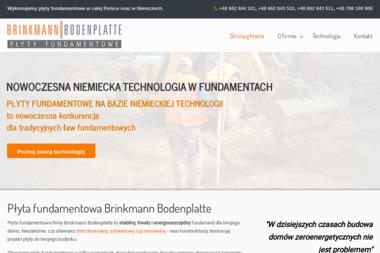 Brinkmann Bodenplatte LLC Sp. K. - Fundamenty Laszczki