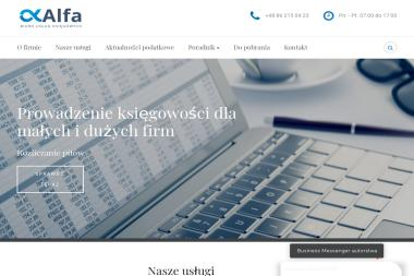 """Biuro Usług Ksiegowych """"Alfa"""" s. c. - Sprawozdania Finansowe Łomża"""