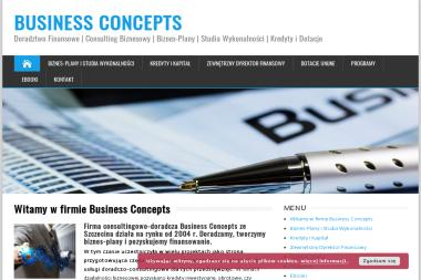Business Concepts - Biznes plan Szczecin