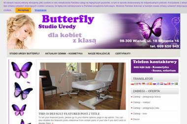 """""""Butterfly"""" Studio Urody - Manicure i pedicure Wieluń"""