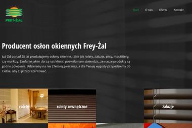 """ZPUH """"Frey-Żal"""" - Żaluzje, moskitiery Bydgoszcz"""