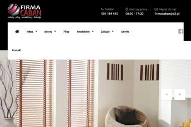 Firma Caban - Okna aluminiowe Moszczenica