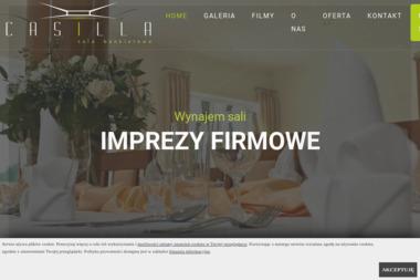 Sala bankietowa weselna Casilla - Catering Kębłowo