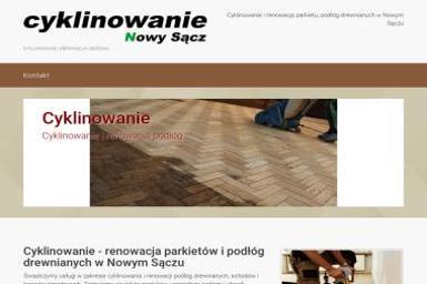 Renowacja Podłóg Drewnianych - Cyklinowanie Nowy Sącz