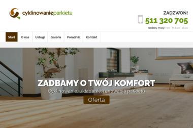 Cyklinowanie Parkietu Błażej Kasprzak - Parkieciarze Białystok