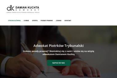 Kancelaria prawna Adwokat Damian Kuchta - Kancelaria Rozwodowa Piotrków Trybunalski