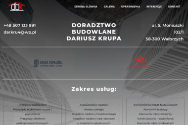 Doradztwo Budowlane Dariusz Krupa - Kierownik budowy Wałbrzych