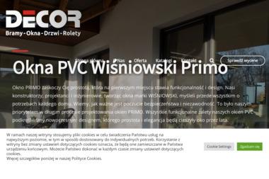 F.H.U DECOR Robert Ostapiuk - Drzwi Biała Podlaska