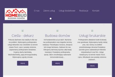"F.H.U. ""HOME BUD"" - Konstrukcja Dachu Toruń"