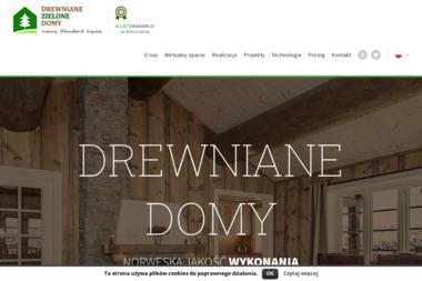 DREWNIANE ZIELONE DOMY A. Pawlik G. Holte s.c. - Budownictwo Szkieletowe Stary Dzików