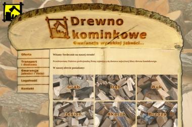 CENTRUM DYSTRYBUCJI DREWNA KOMINKOWEGO - Drewno Bukowe Łódź