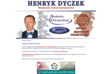 Henryk Dyczek - Medycyna niekonwencjonalna Zławieś Wielka