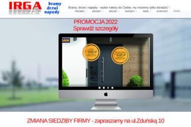 Przedsiębiorstwo IRGA - Drzwi Garażowe Segmentowe Wrocław