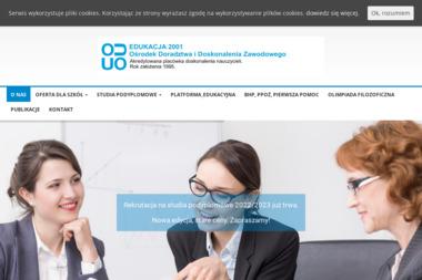 Edukacja 2001 Ośrodek Doradztwa i Doskonalenia Zawodowego - Szkolenia Dofinansowane z UE Radom