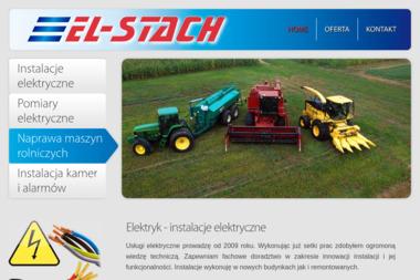 EL-STACH Usługi elektryczne - Alarmy Sadki