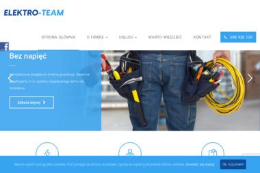 Elektro-Team - Alarmy Miękinia