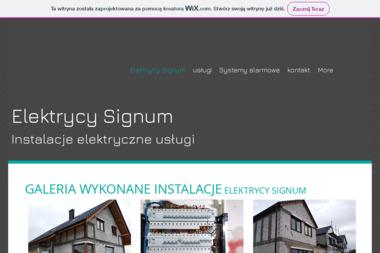 Elektrycy Signum - Alarmy Krzeczyn Wielki