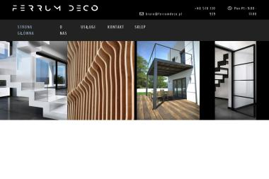 Ferrum Deco - Balustrady Bialystok