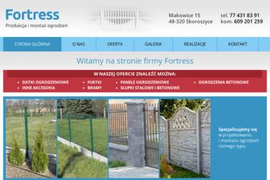 Fortress - Produkcja i montaż ogrodzeń - Ogrodzenia Ogrodowe Skoroszyce